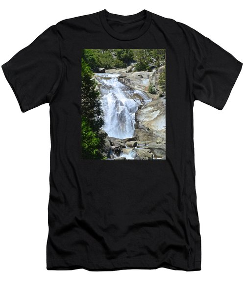 Mist Falls Men's T-Shirt (Athletic Fit)