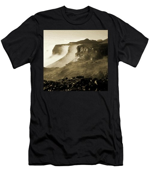 Mist In Lesotho Men's T-Shirt (Athletic Fit)