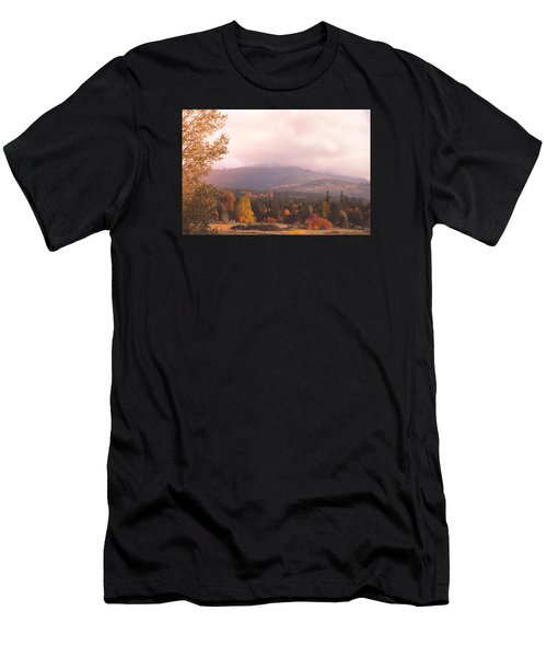 Mist On The Mountains Men's T-Shirt (Athletic Fit)