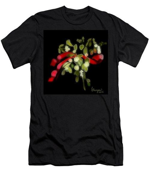 Mistletoe  Men's T-Shirt (Athletic Fit)