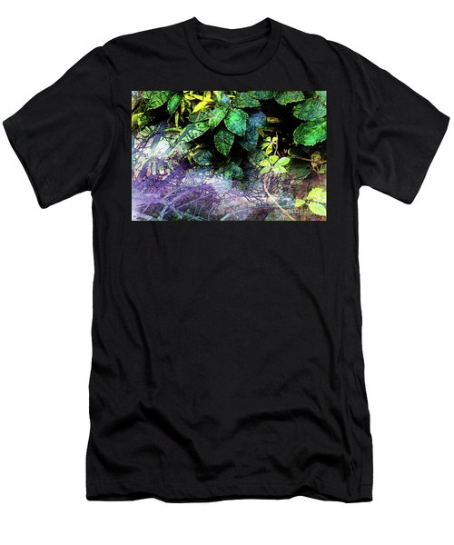 Misty Branches Men's T-Shirt (Athletic Fit)