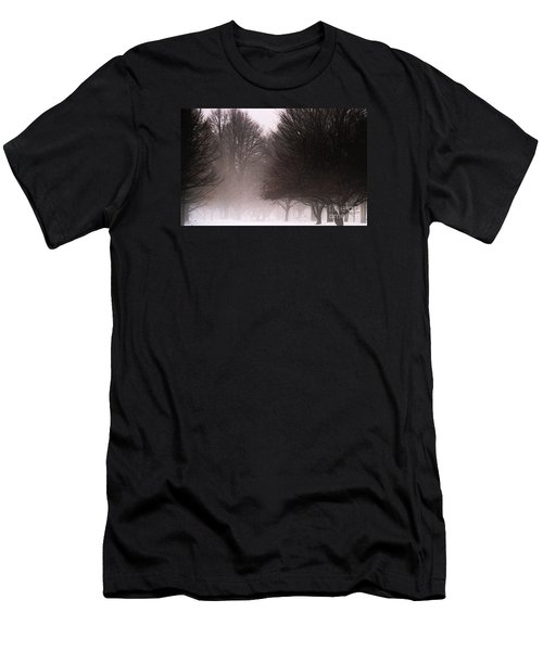Misty Men's T-Shirt (Slim Fit) by Linda Shafer