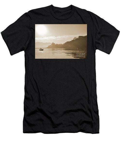 Misty Morning 2 Men's T-Shirt (Athletic Fit)