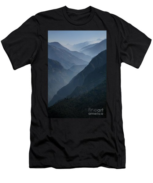 Misty Peaks Men's T-Shirt (Athletic Fit)