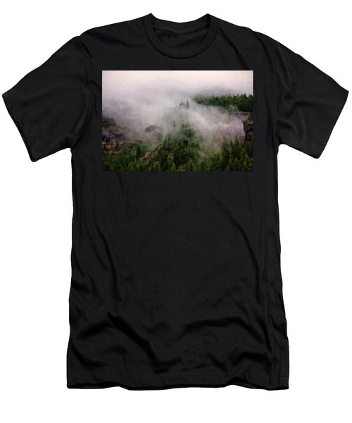Misty Pines Men's T-Shirt (Athletic Fit)