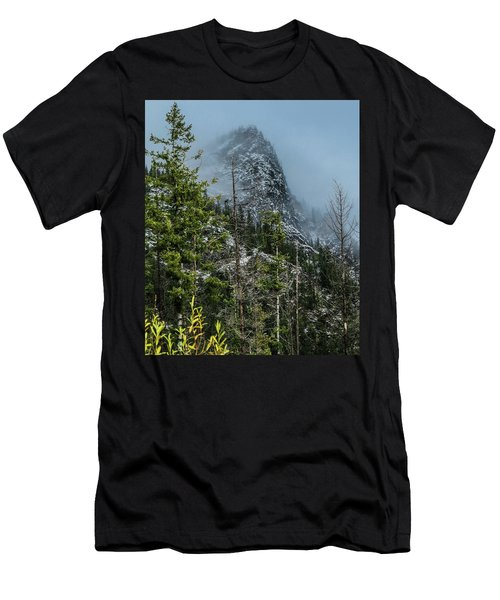 Misty Pinnacle Men's T-Shirt (Athletic Fit)