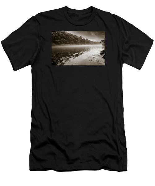 Misty River Men's T-Shirt (Athletic Fit)