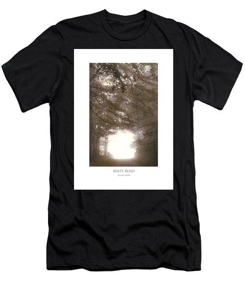 Misty Road Men's T-Shirt (Athletic Fit)