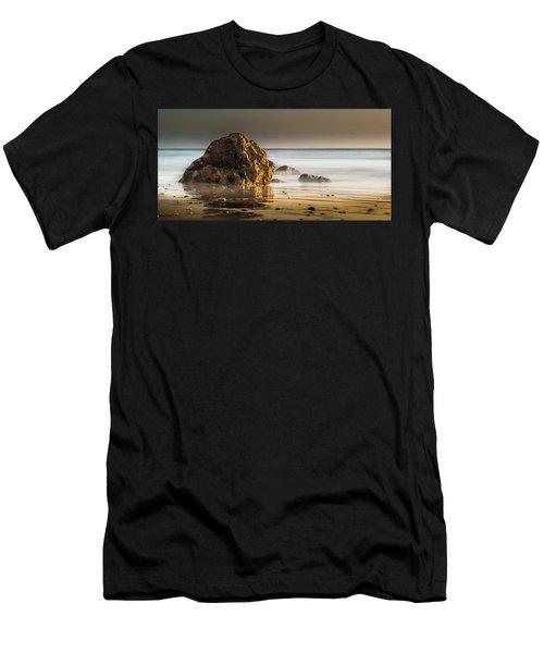 Misty Rock Men's T-Shirt (Athletic Fit)