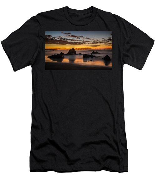 Misty Seascape Men's T-Shirt (Athletic Fit)