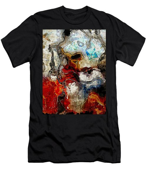Mixed Emotions Men's T-Shirt (Slim Fit) by The Art Of JudiLynn