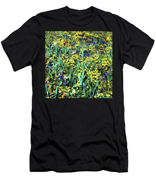 Mixed Flower Garden 515 Men's T-Shirt (Athletic Fit)