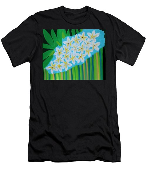 Mixed Up Plumaria Men's T-Shirt (Athletic Fit)