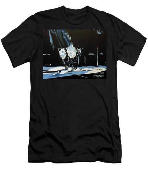 Mj On His Toes Men's T-Shirt (Athletic Fit)
