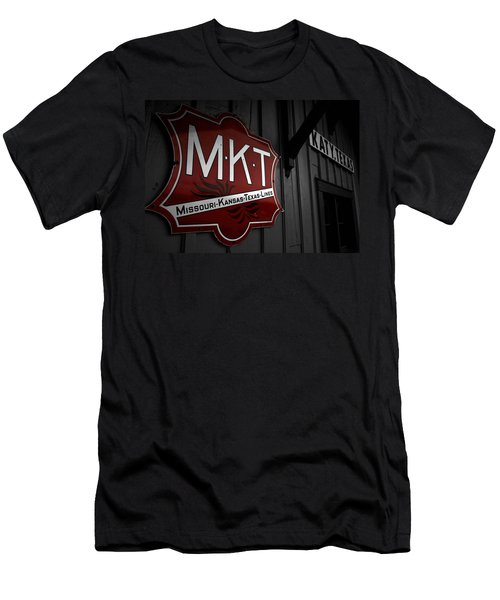 Mkt Railroad Lines Men's T-Shirt (Athletic Fit)