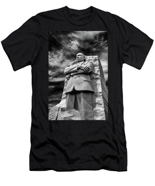 Mlk Memorial Men's T-Shirt (Slim Fit) by Paul Seymour
