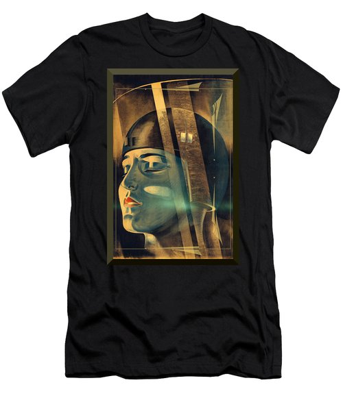 Metropolis Maria Transformation Men's T-Shirt (Athletic Fit)
