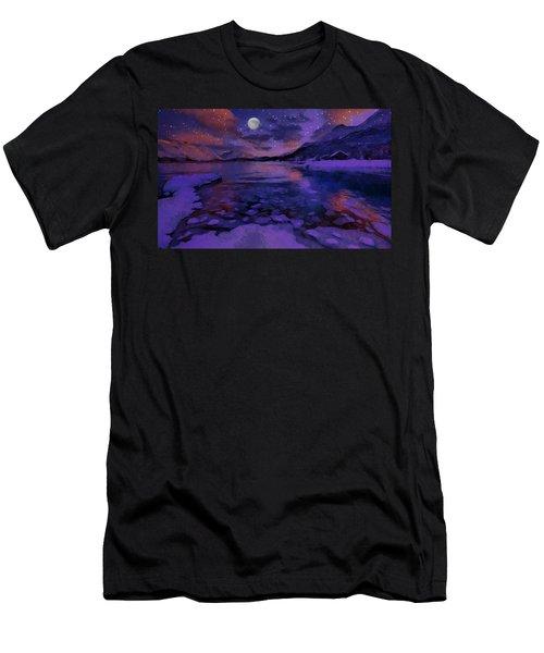 Mnon Over The Frozen Lands Men's T-Shirt (Athletic Fit)