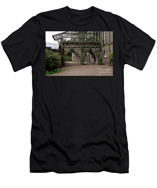 Moat At Inveraray Castle In Argyll Men's T-Shirt (Athletic Fit)