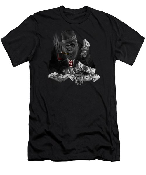 Mob Of The Apes Men's T-Shirt (Athletic Fit)