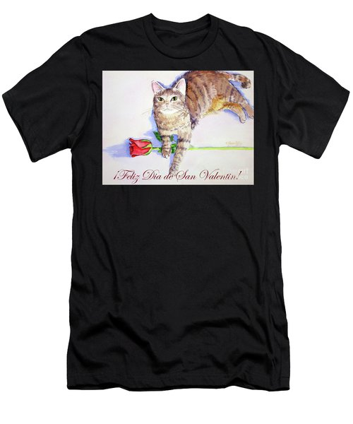 Mocha San Valentin 1 Men's T-Shirt (Athletic Fit)