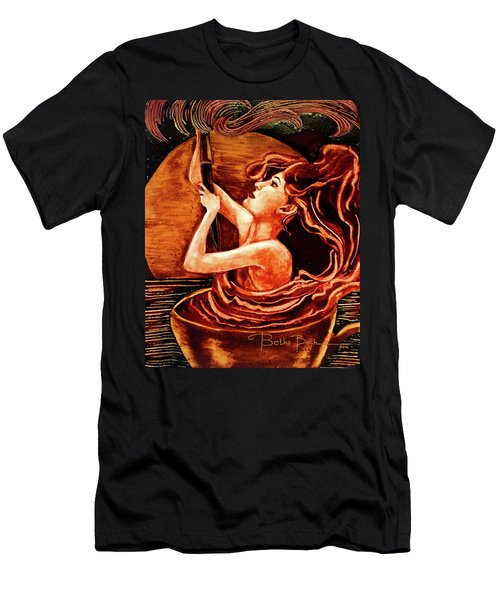 Mocha Swirl Men's T-Shirt (Athletic Fit)
