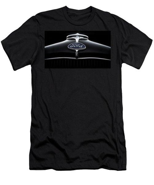 Men's T-Shirt (Slim Fit) featuring the digital art Model A Ford by Douglas Pittman