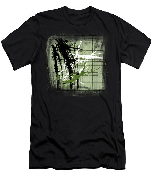 Modern Green Men's T-Shirt (Athletic Fit)