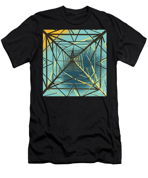 Modern Pyramid Men's T-Shirt (Athletic Fit)