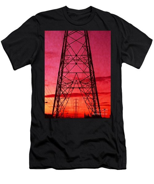 Modern Sunset Men's T-Shirt (Athletic Fit)