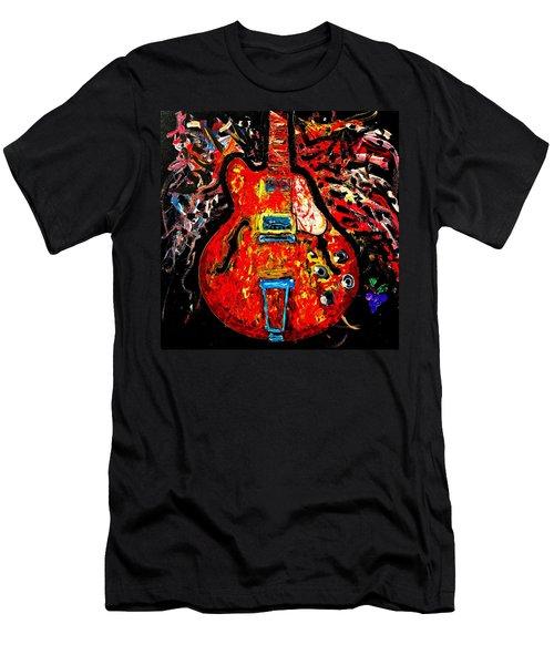 Modern Vintage Guitar Men's T-Shirt (Athletic Fit)