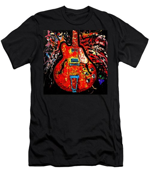 Modern Vintage Guitar Men's T-Shirt (Athletic Fit)