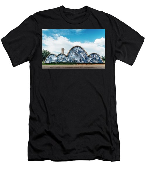 Modernist Church Of Sao Francisco De Assis In Belo Horizonte, Brazil Men's T-Shirt (Athletic Fit)