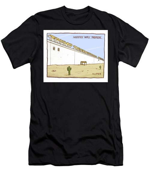 Modified Wall Proposal Men's T-Shirt (Athletic Fit)
