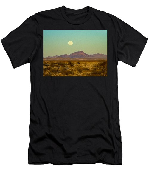 Mohave Desert Moon Men's T-Shirt (Athletic Fit)