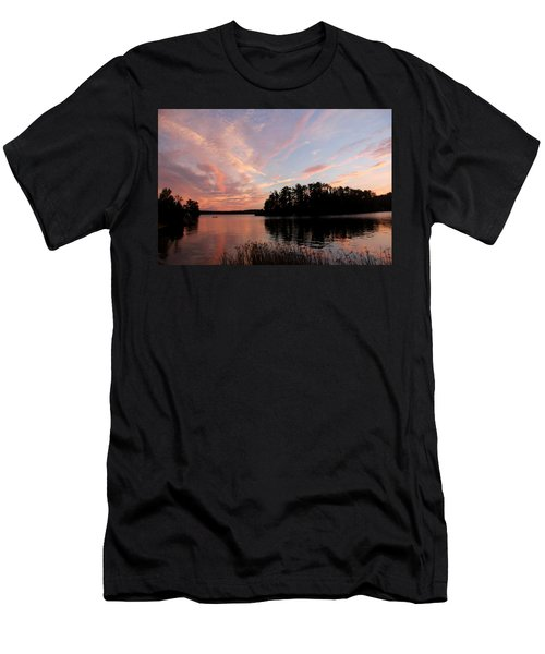 Mohawk Island Aglow Men's T-Shirt (Athletic Fit)