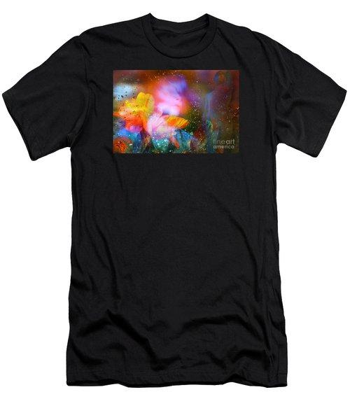 Men's T-Shirt (Slim Fit) featuring the digital art Moist Dream Vision  by Rosa Cobos