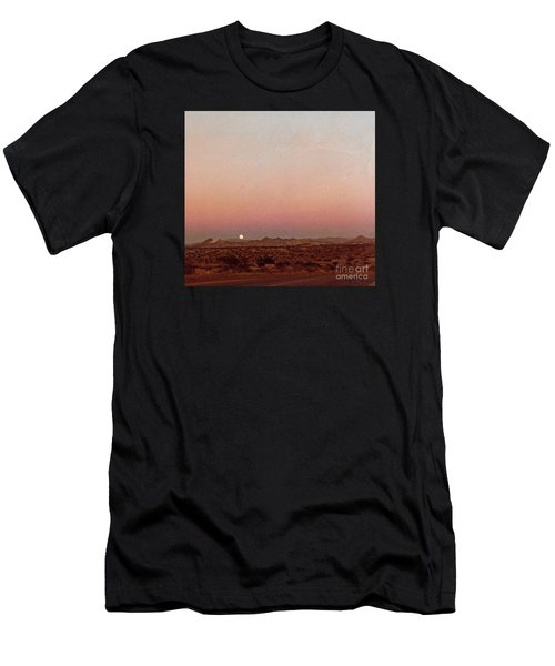 Mojave Sunset Men's T-Shirt (Athletic Fit)
