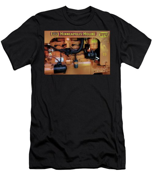 Moline Engine Men's T-Shirt (Athletic Fit)