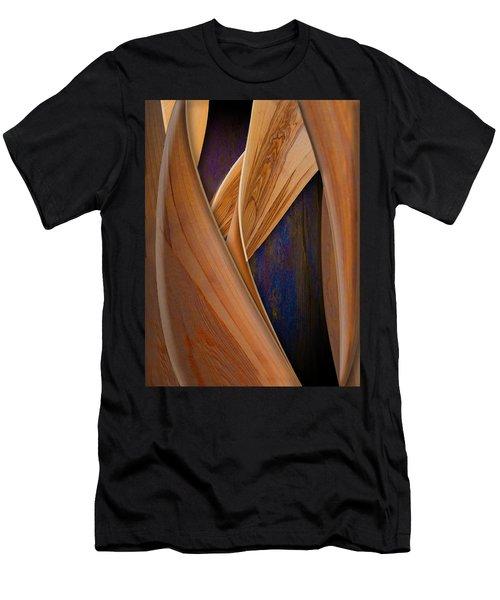 Molten Wood Men's T-Shirt (Athletic Fit)