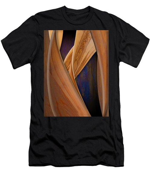 Molten Wood Men's T-Shirt (Athletic Fit)