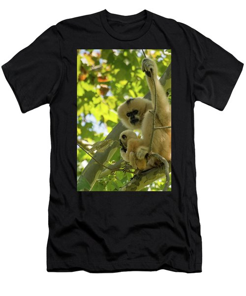 Mommy Gibbon Men's T-Shirt (Athletic Fit)