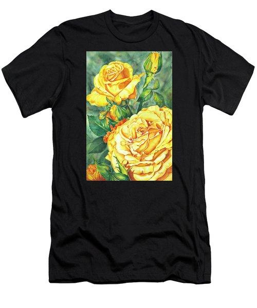 Mom's Golden Glory Men's T-Shirt (Athletic Fit)