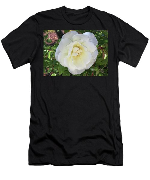 Men's T-Shirt (Slim Fit) featuring the photograph Moms Rose by Daniel Hebard