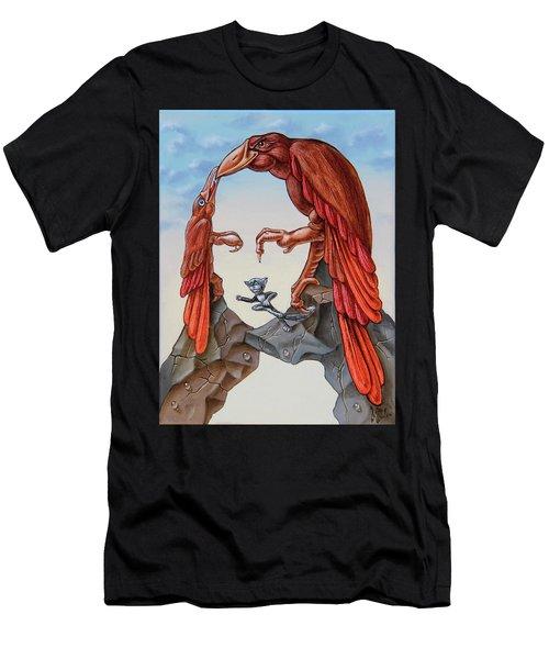 Mona Lisa. Air. Men's T-Shirt (Athletic Fit)