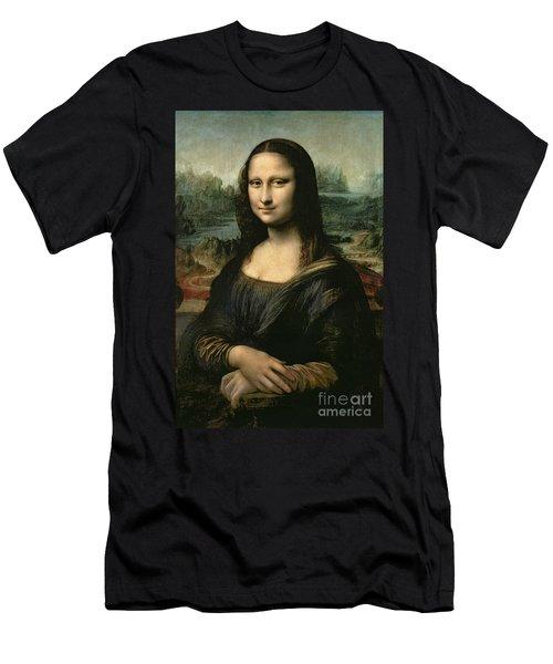 Mona Lisa Men's T-Shirt (Athletic Fit)