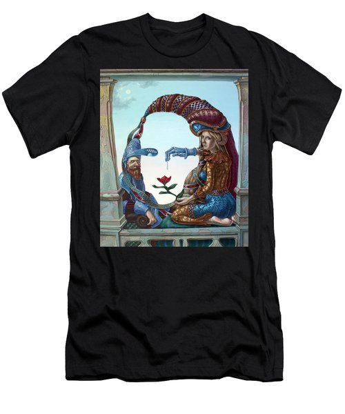 Mona Lisa. Love Men's T-Shirt (Athletic Fit)