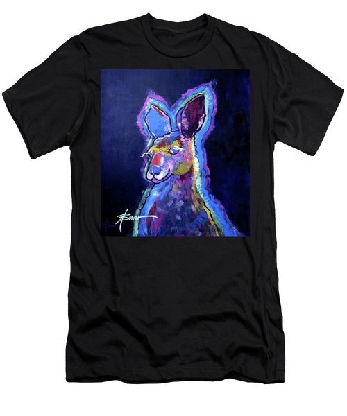 Mona Lisa 'roo Men's T-Shirt (Athletic Fit)