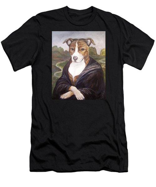 Mona Pitta Men's T-Shirt (Slim Fit) by Laura Aceto
