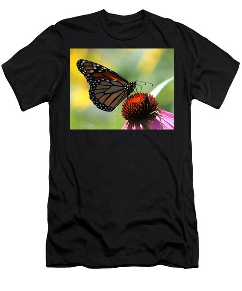 Monarch Butterfly Stony Brook New York Men's T-Shirt (Athletic Fit)